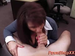 Real ho sucks cock and gives handjob
