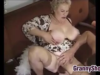 Grannies videos busty