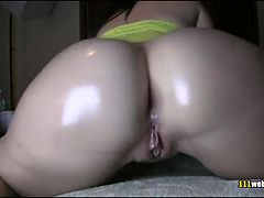 Juicy booty dance show for webcam