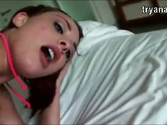 Jumbo tits Jessica Robbin screams it out loud while analized