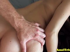 first-anal-lesson-for-tanlined-amateur-girlfriend