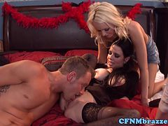 Femdom Veronica Avluv loves group action