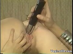 Blonde Lesbian Ladies With A Vibrator Classic